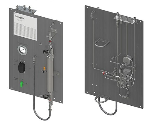 Continuous Flow Gas Sampler with Purge